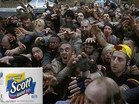 zombie toilet paper